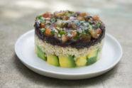 Avocado and Quinoa Veggie Tartare, photo by Santiago Gomez de la Fuente