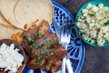 Baby-Back Rib Tacos With Pineapple Salsa