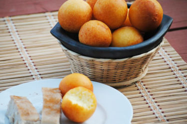 Colombian Buñuelos (Cheesy Dough Fritters)