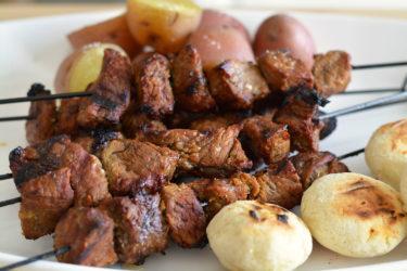 Chuzos de Carne (Beef Kabobs)