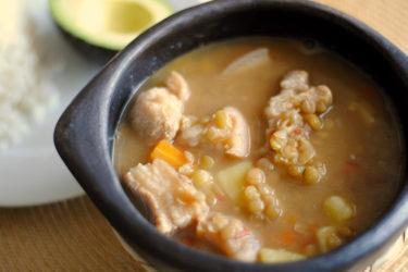 Colombian-Style Lentil Soup