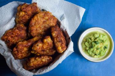 Chipotle Corn Cakes (Tortitas de Elote), photo by Sonia Mendez Garcia