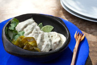 Mole Blanco Sauce With Chicken (White Mole Sauce Recipe)