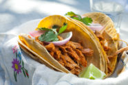 Pibil-Style Pulled Pork Tacos, photo by Sonia Mendez Garcia