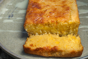 Pan de Elote (Sweet Corn Cake), photo by Hispanic Kitchen
