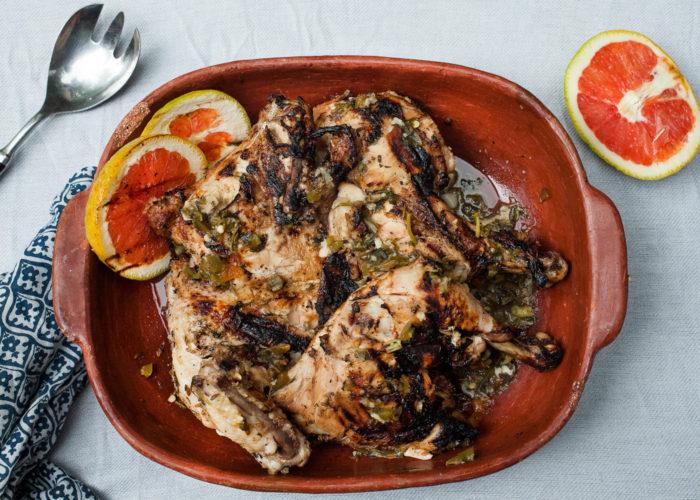 Grilled Garlic Mojo & Sour Orange Chicken, photo by Sonia Mendez Garcia