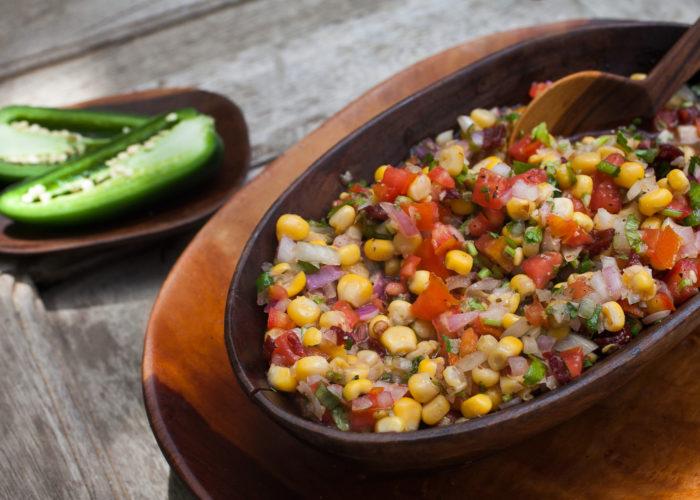 Fresh Corn Chipotle Salsa, photo by Hispanic Kitchen