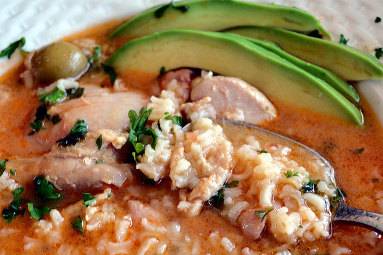 Asopao recipe puerto rican chicken stew recipes asopao de pollo puerto rican chicken and rice stew forumfinder Image collections
