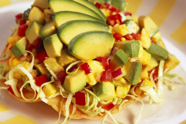 Ají Amarillo Avocado Tostada, photo by Fresh Avocados - Love One Today