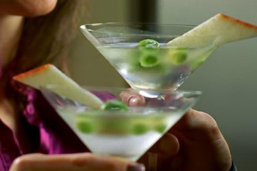Flavored Avo-tini Cocktail Recipe with Hass Avocado Pearls