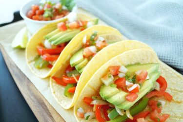 Avocado Tacos, photo by Hispanic Kitchen