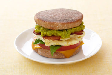 Avocado and Egg Breakfast Sandwich, photo by Fresh Avocados - Love One Today