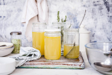 All-Healing Bone Broth, photo by Cheryl Wiwat