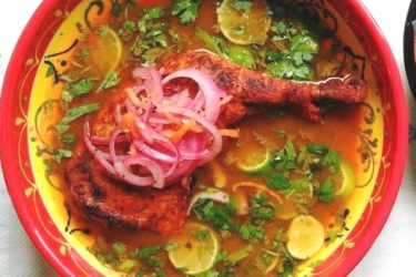 Chicken in a Lime Broth, photo by Sonia Mendez Garcia