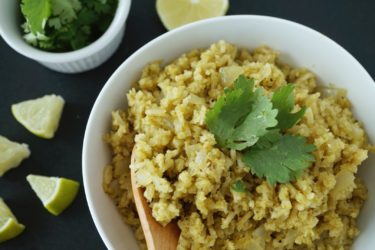 Cilantro Chile Rice, photo by Sonia Mendez Garcia