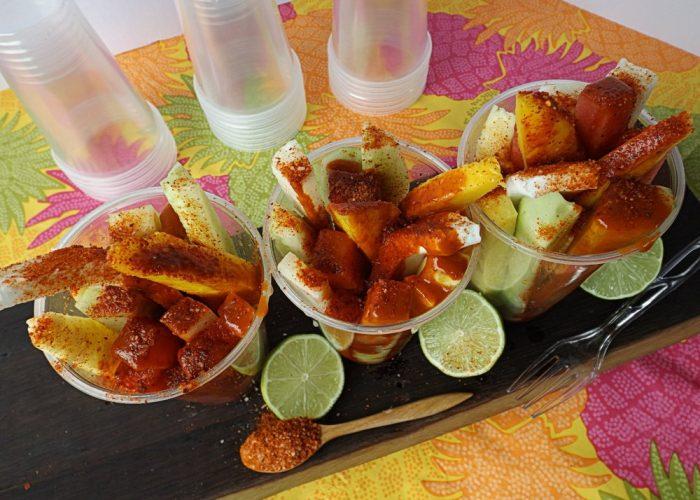 Mexican Fresh Fruit Cups - Hispanic Kitchen : Hispanic Kitchen
