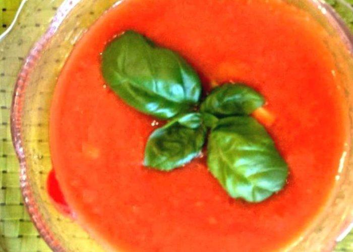 Gazpacho, photo by Denisse Oller
