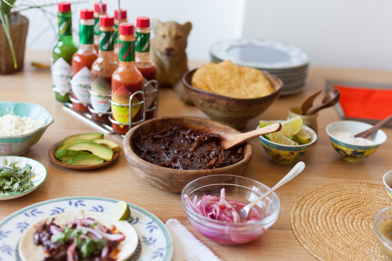 TABASCO® Chipotle Brisket Tacos : Hispanic Kitchen