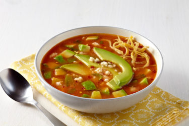 Avocado and Tortilla Soup, photo by Fresh Avocados - Love One Today