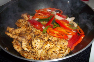 Lemon Pepper Chicken Fajitas, photo by Sonia Mendez Garcia