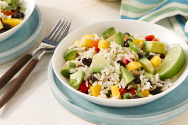 Avocado Mango Rice Salad, photo by Fresh Avocados - Love One Today