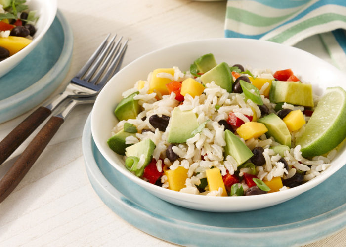 Avocado Mango Rice Salad, photo by Fresh Avocados - Love One Today