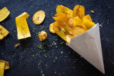 Plátanos Fritos con Picante y Limón