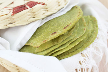 Tortillas de Nopal (Cactus Tortillas), photo by Fernanda Alvarez