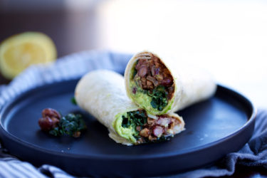 Fresh Twist on a Classic: Walnut Mushroom Burritos, photo by Hispanic Kitchen
