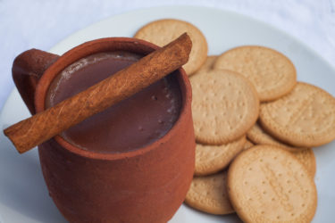 Atole de Chocolate (Warm Mexican Chocolate Cereal)