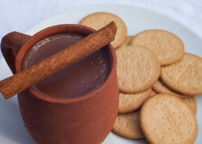 Atole de Chocolate (Warm Mexican Chocolate Cereal), photo by Sonia Mendez Garcia