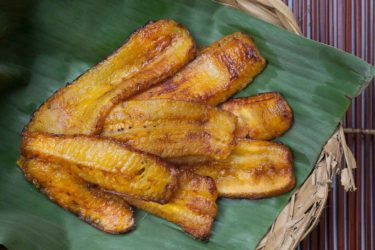 Maduros (Fried Sweet Plantains), photo by Santiago Gomez de la Fuente