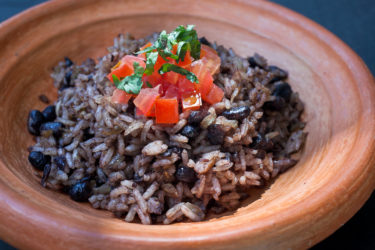 Gallo Pinto (Costa Rican Rice & Beans), photo by Santiago Gomez de la Fuente