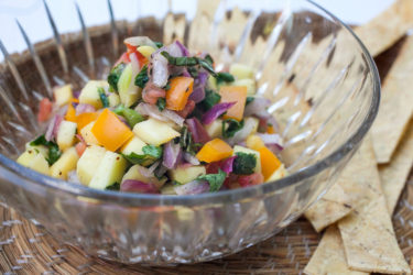 Mango Pico de Gallo, photo by Fernanda Alvarez