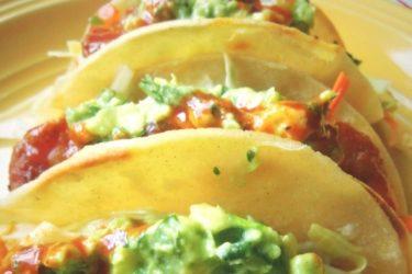 Achiote-Marinated Shrimp Tacos