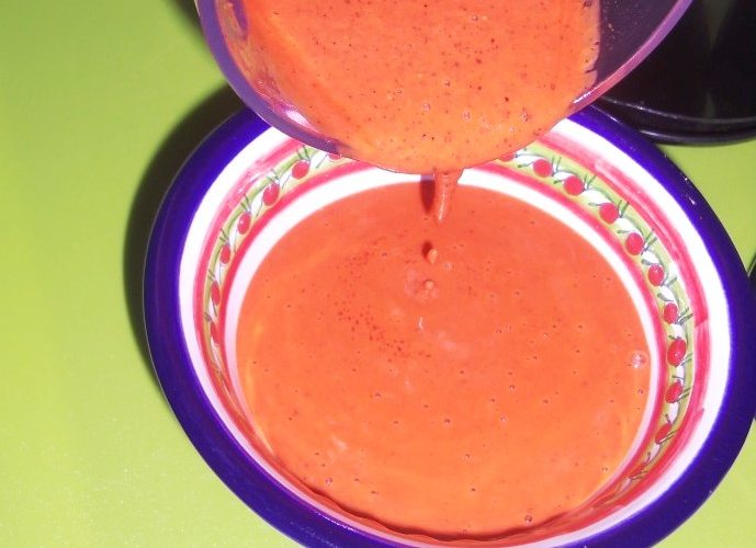 I absolutely love the bright red color of the annatto!