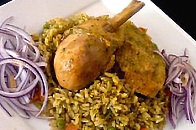 Arroz con pollo peruano peruvian chicken rice recipe peruvian arroz con pollo forumfinder Images
