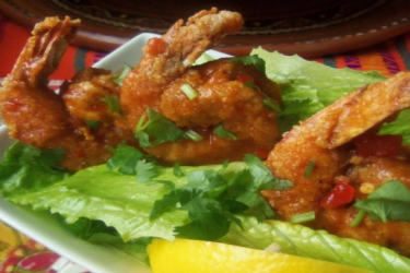 Buffalo Crispy Shrimp