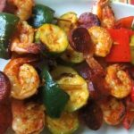 Chile Garlic Shrimp Kabobs