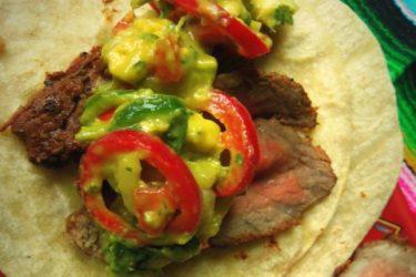 Chipotle-Marinated Steak Tacos