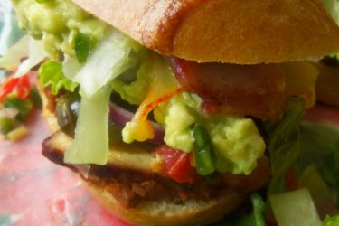Chipotle Chicken Tortas (Sliders), photo by Sonia Mendez Garcia