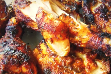Dry Rub Chile Ancho Grilled Chicken