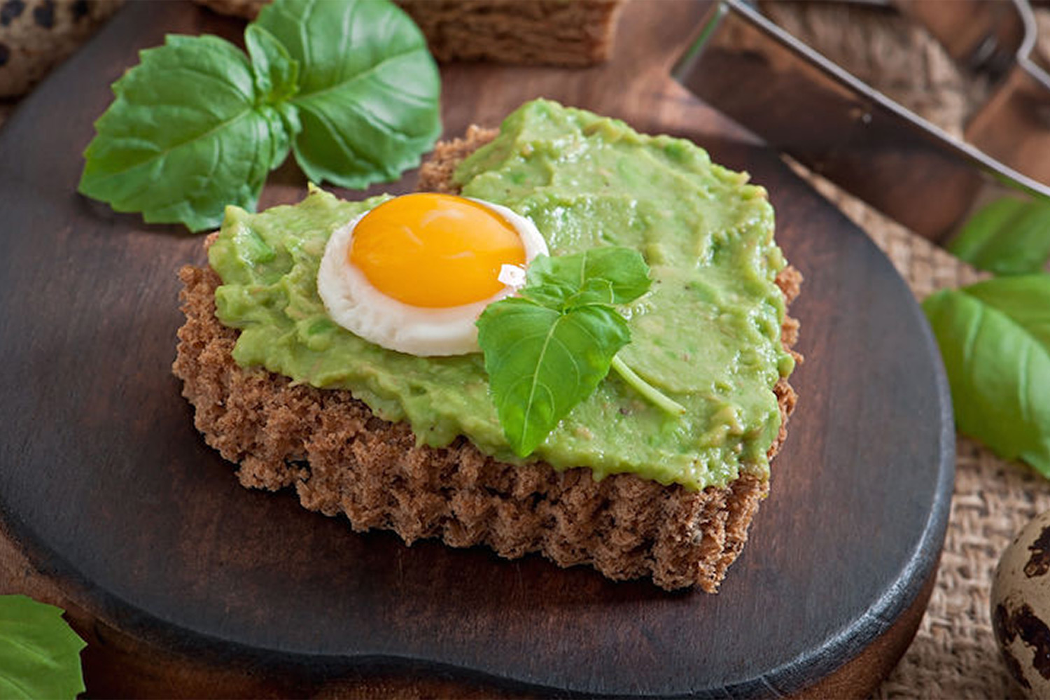 Egg-in-a-Basket Avocado Toast