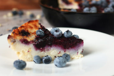 Masa Cornbread With Blueberries