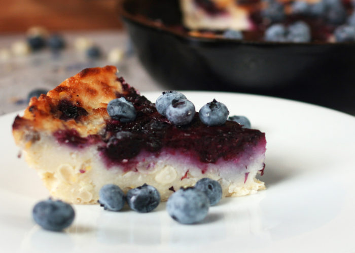 Masa Cornbread With Blueberries, photo by Mercedes Golip