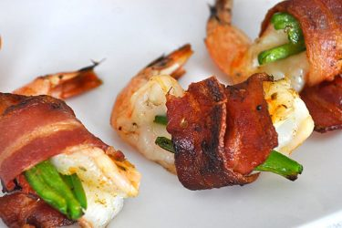 Mesquite Grilled Camarones (Shrimp) Brochette, photo by Cindy Kennedy