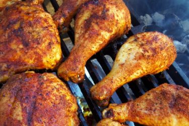 Mesquite Smoked Chicken, photo by Sonia Mendez Garcia