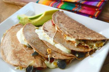 Quesadillas de Huitlacoche, photo by Suellen Pineda, RDN, CDN