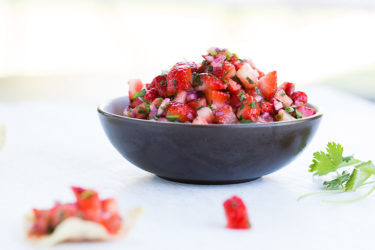 Pico de Gallo With Strawberries