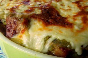 Salsa Verde Carnitas Tamale Pie